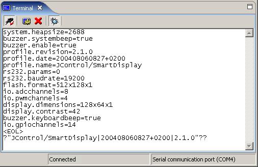 JControl/IDE: Terminal